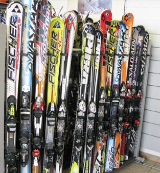 Ski used