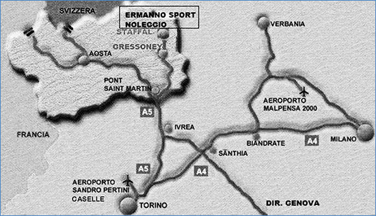Come arrivare da Ermanno Sport